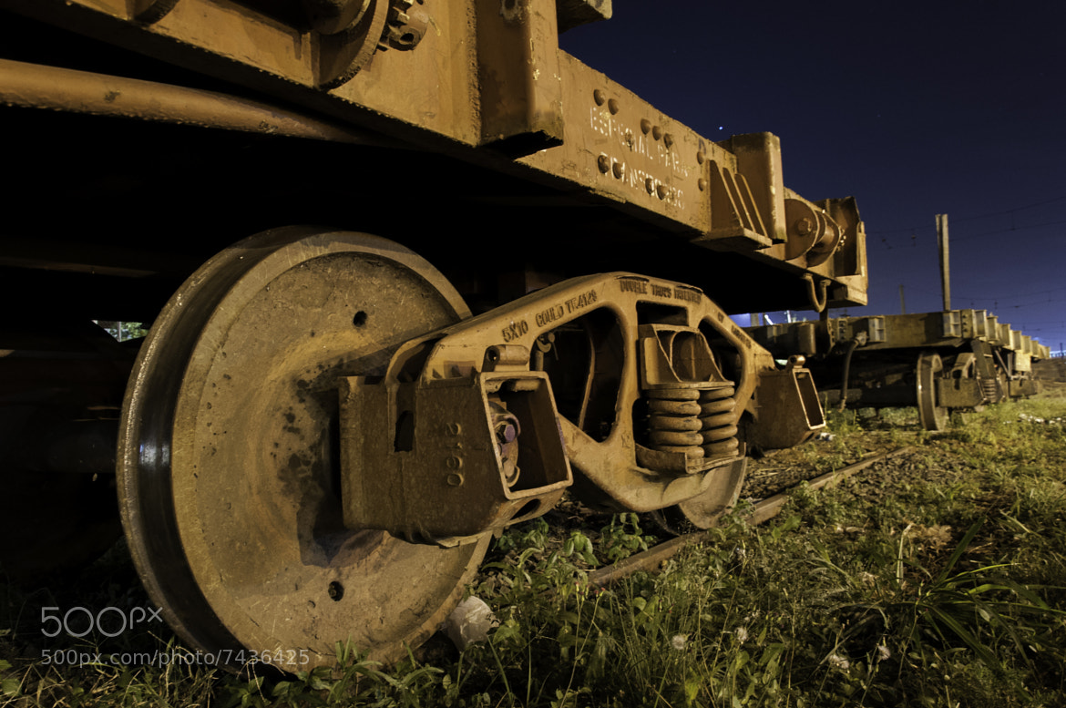 Photograph Rails Overnight !!! by Erick Gianezzi on 500px