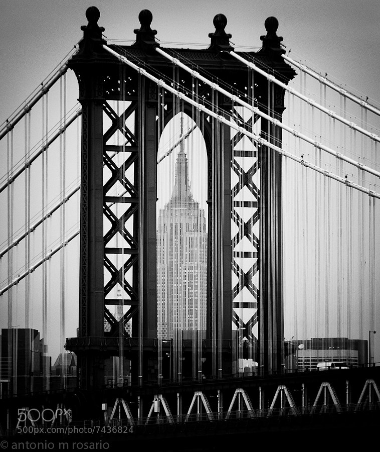 Photograph Manhattan Empire by Antonio M. Rosario on 500px