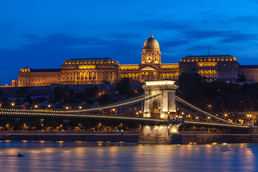 Photograph Budapest at night by redgreenblue on 500px