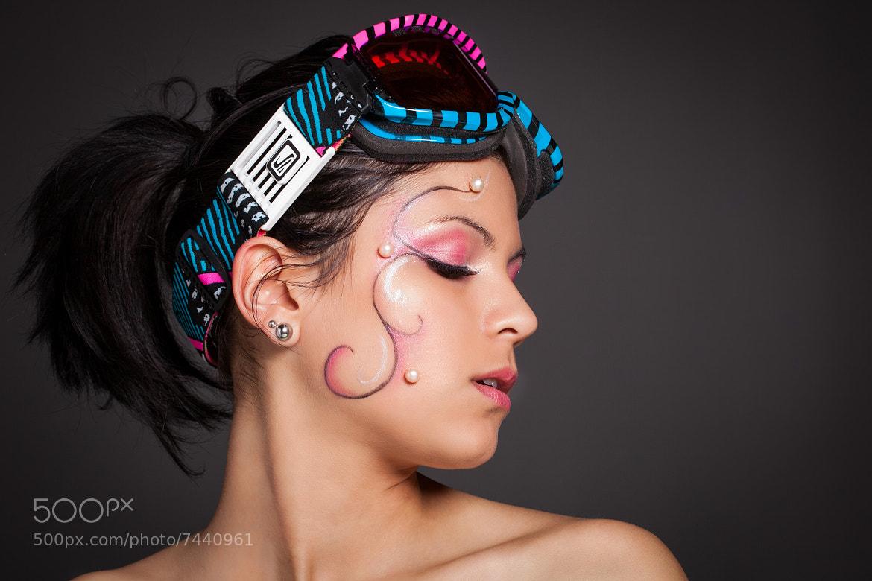 Photograph Artistic Make up - Laetitia (Miss Albigeois Midi-Pyrénées) by Francesco De Laurentiis on 500px