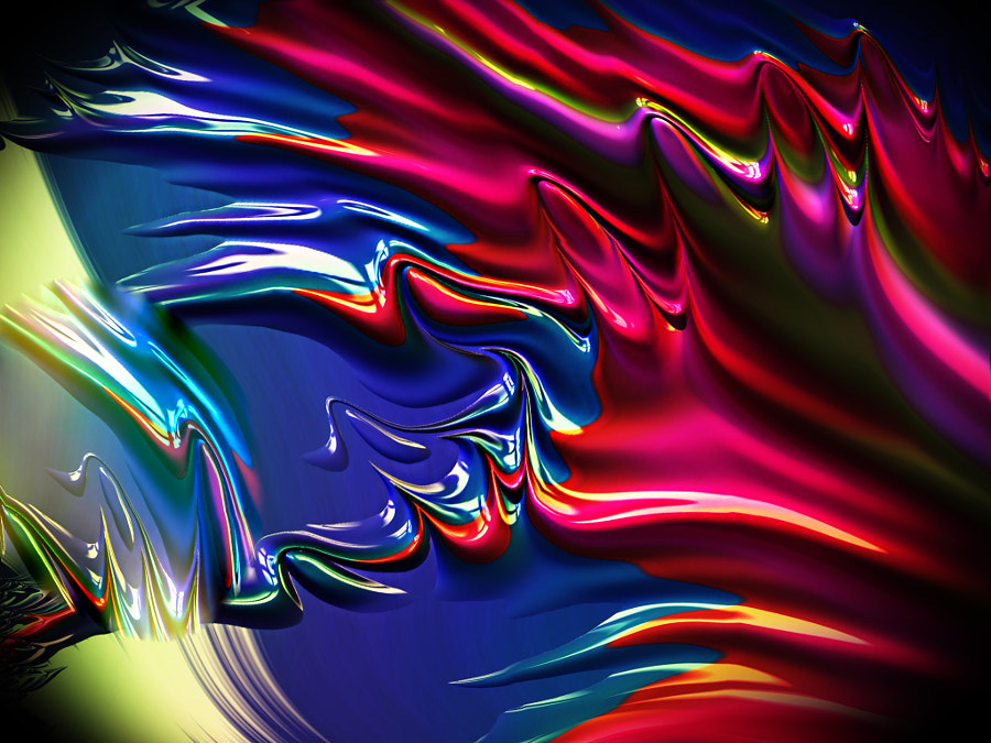 Abstract Shine and Colors