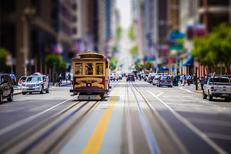 Cable Car by Laurent Meister on 500px.com