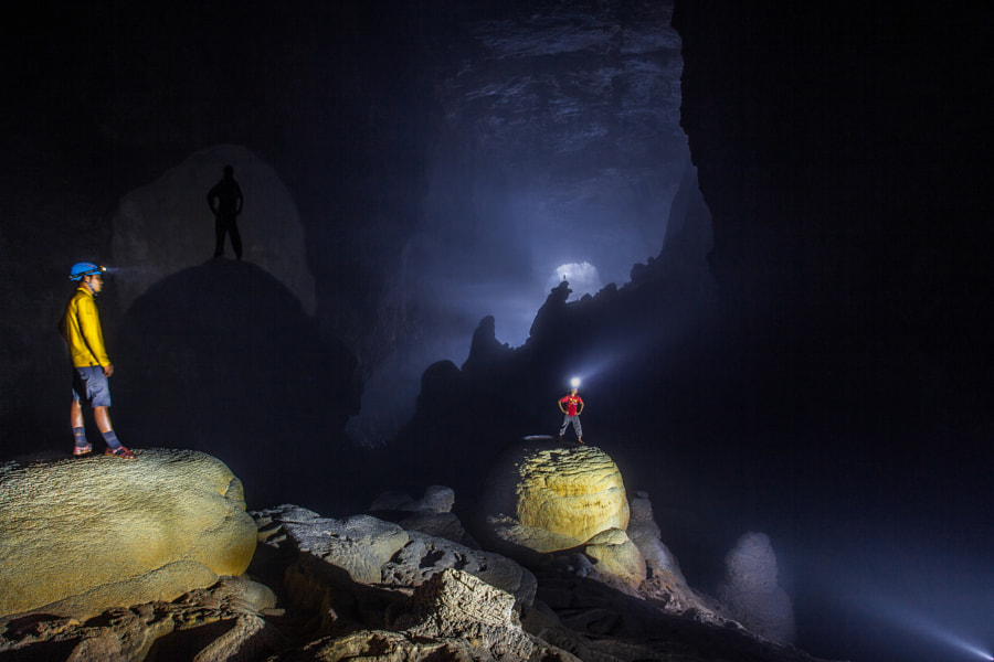 Photograph Light and shadows, world's biggest cave by john spies on 500px