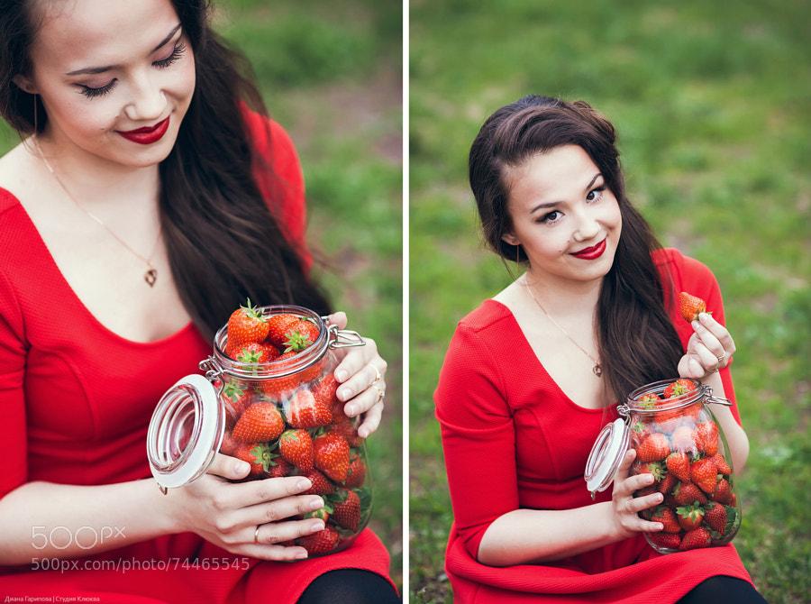 Diana & Strawberry