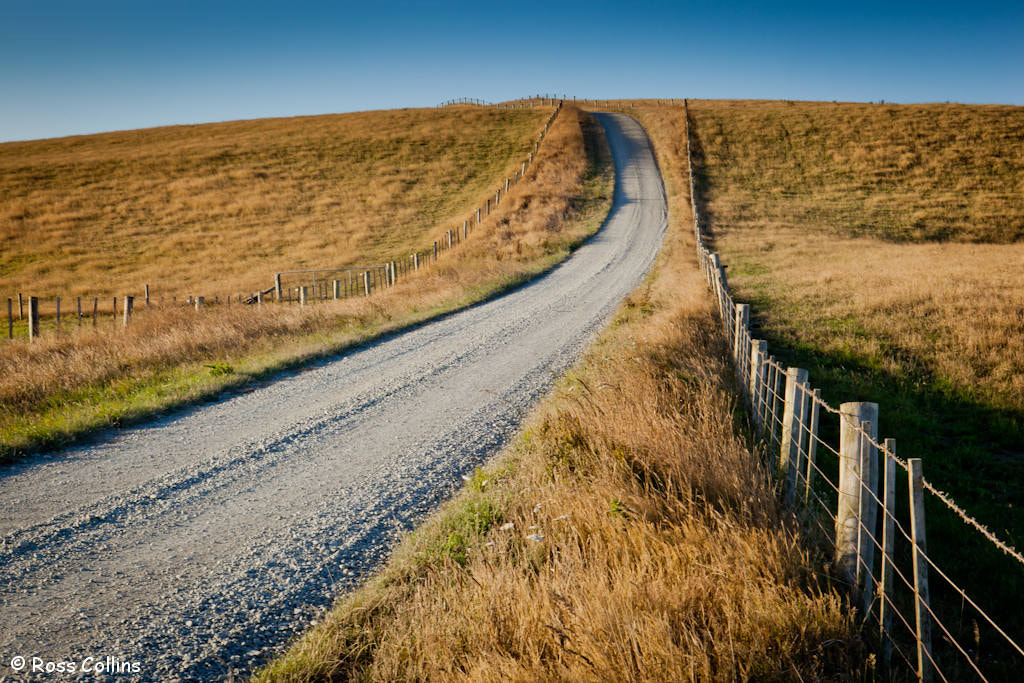 Photograph Country Road by Ross Collins on 500px