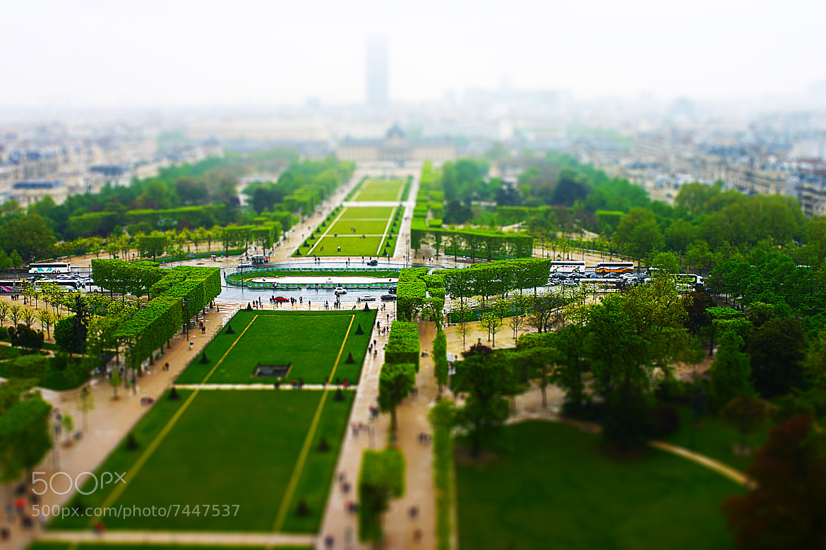 Photograph View from the Eiffel Tower by Tib Ciocirlie on 500px
