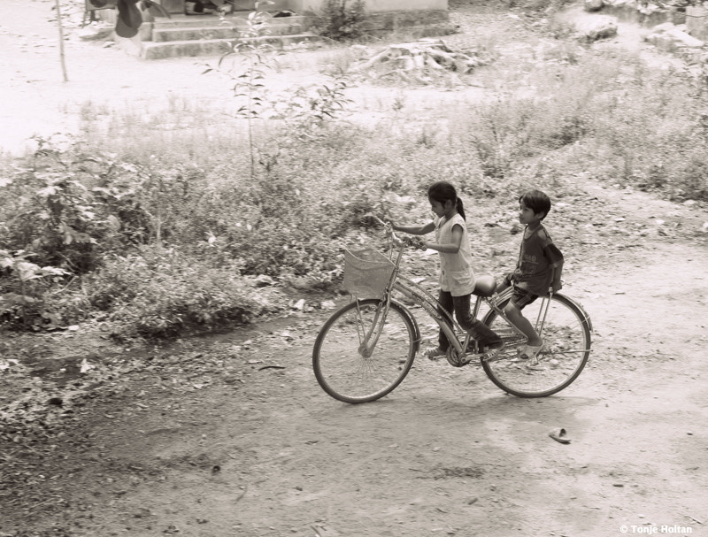 Photograph Cycling children by Tonje Holtan on 500px