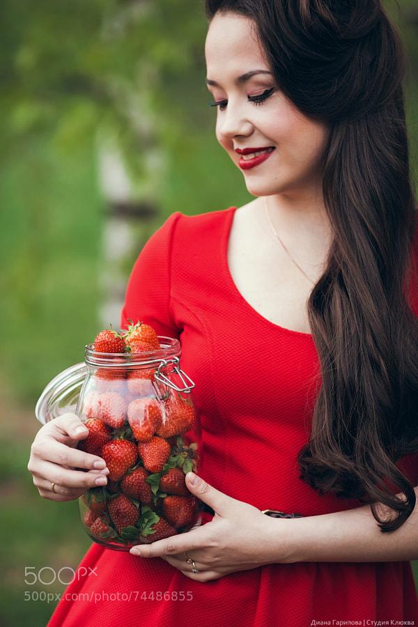 Diana & Strawberries