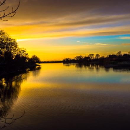 February Sunset - Cheshire