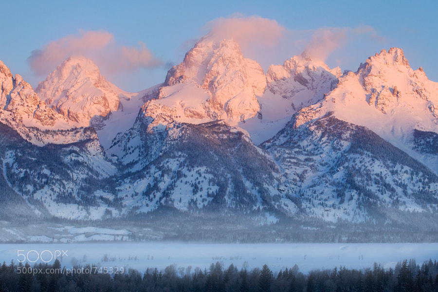 Photograph Teton Winter by Scott Hotaling on 500px