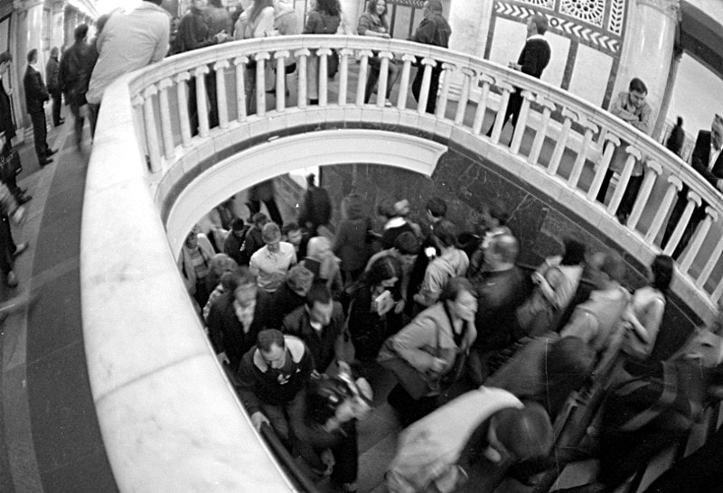 Photograph Moscow subway by Roman Sotnikov on 500px