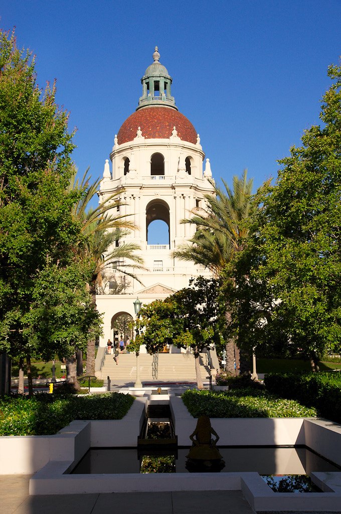 Photograph Pasadena City Hall (East side) by James Billings on 500px