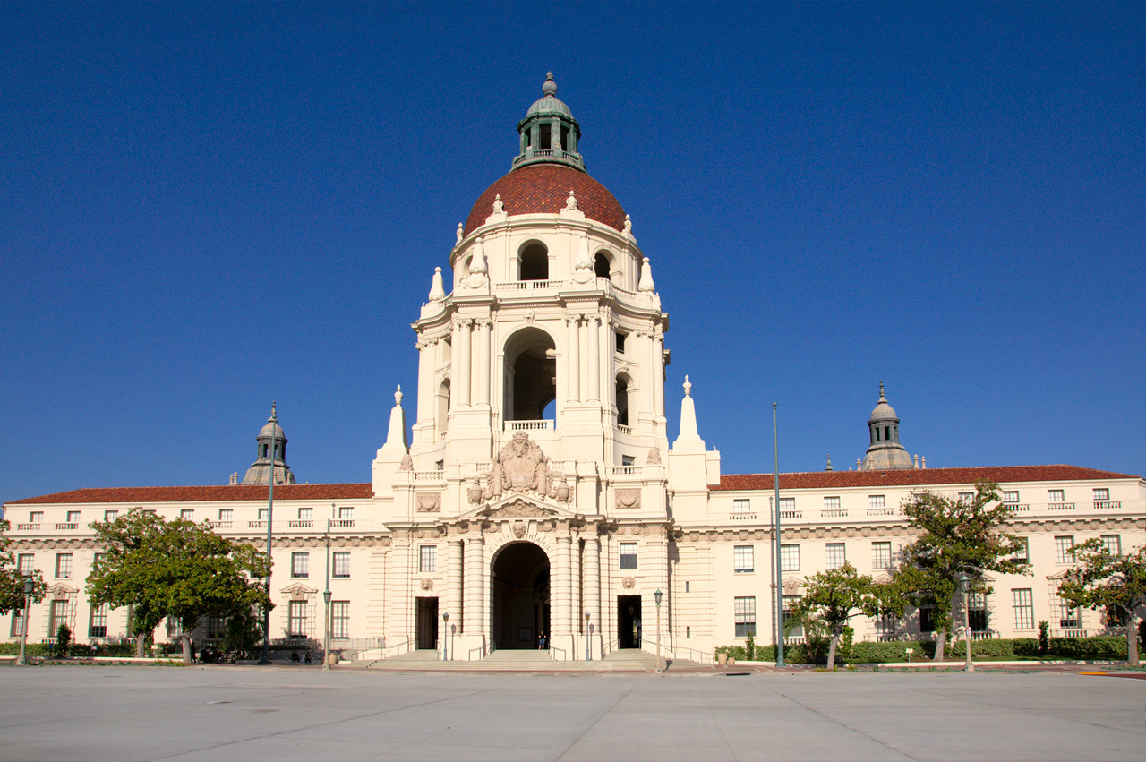 Photograph Pasadena City Hall (West side) by James Billings on 500px