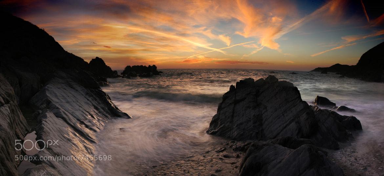Photograph Combesgate Sunset by Mitt Nathwani on 500px