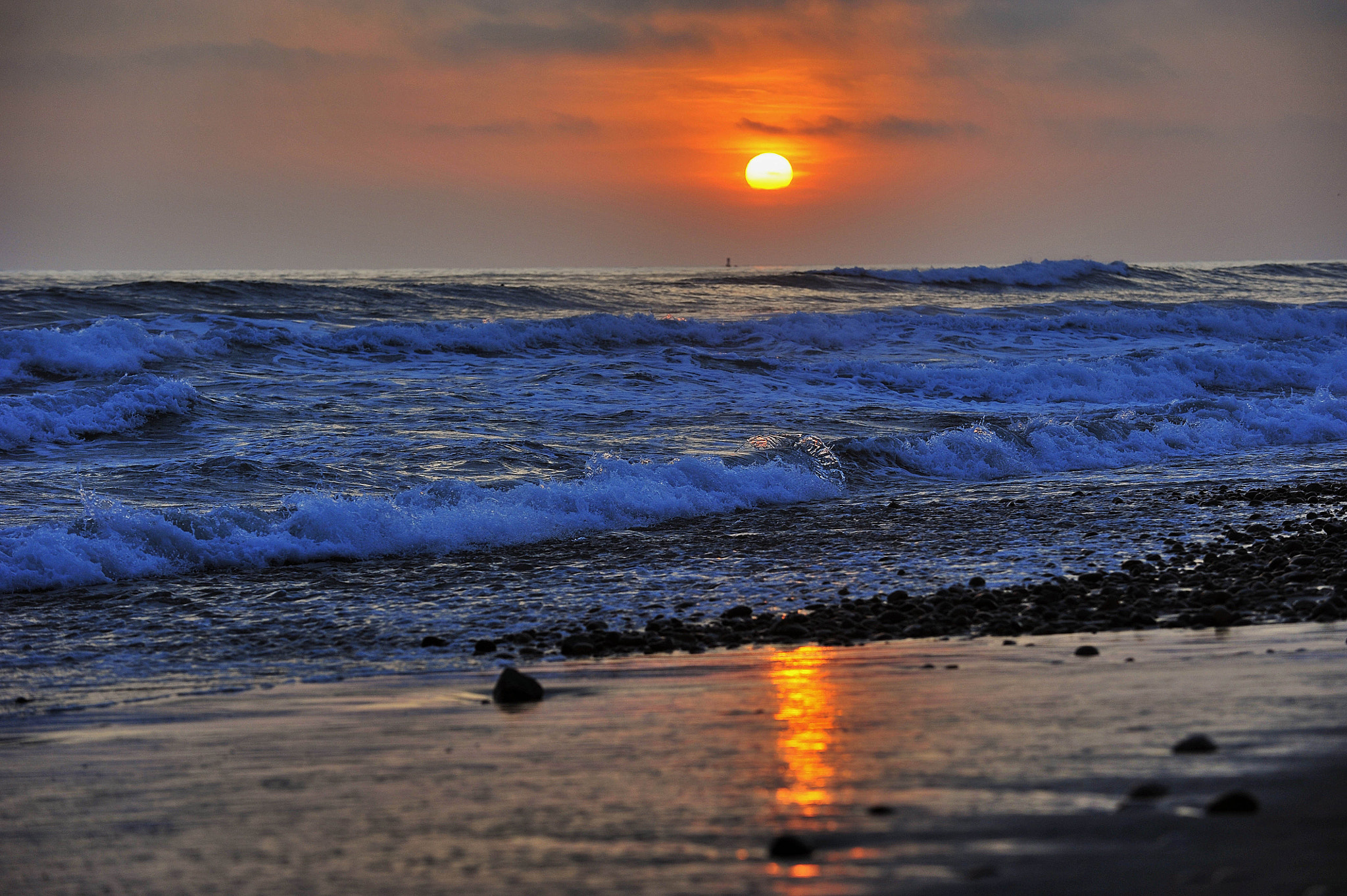 Photograph Sunset in Oceanside- May 8, 2012 by Rich Cruse on 500px