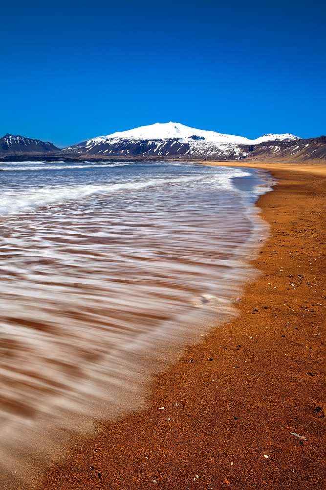 Photograph [ ... snaefellsjökull and beach ] by D-P  Photography on 500px