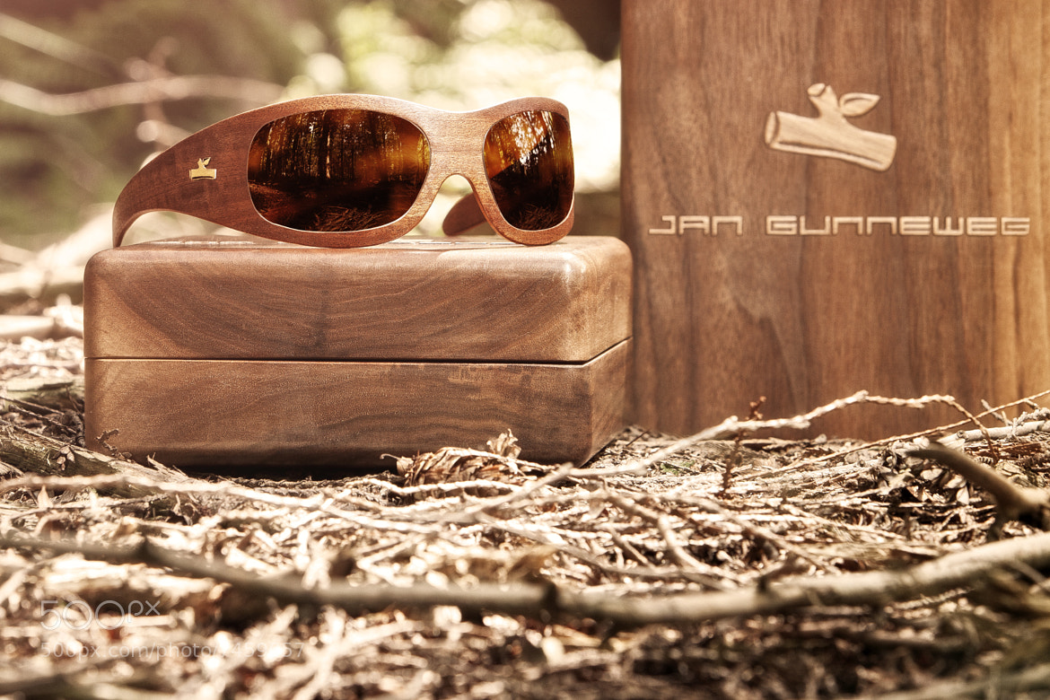 Photograph Wooden sunglasses by Jeroen Nieuwhuis on 500px