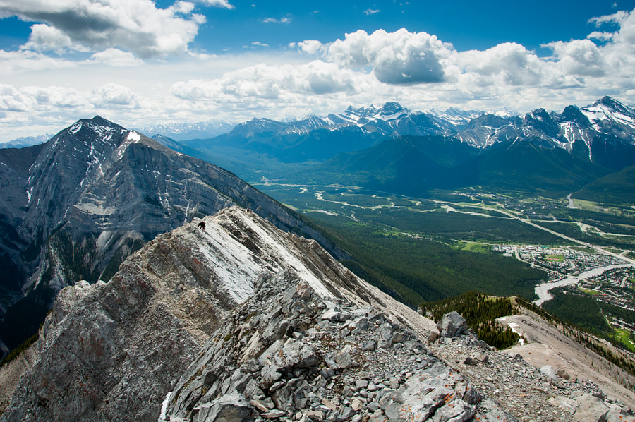 Mt Lady McDonald by Peter Drevenka - best places to visit in Canada