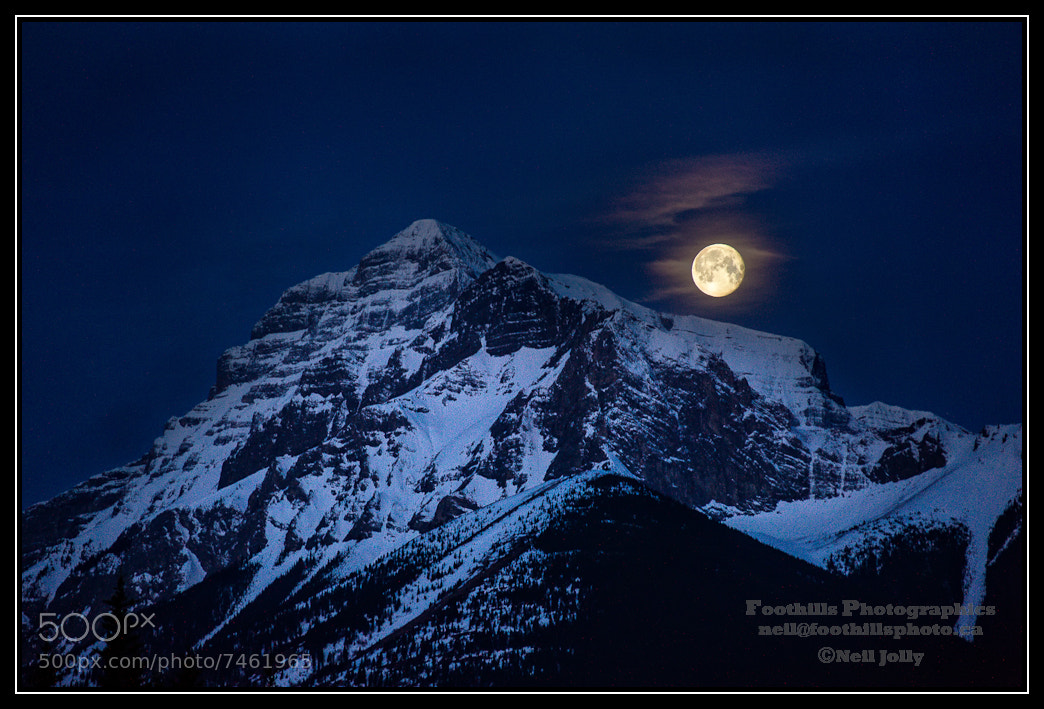 Photograph The Kidd and the Moon by Neil Jolly on 500px