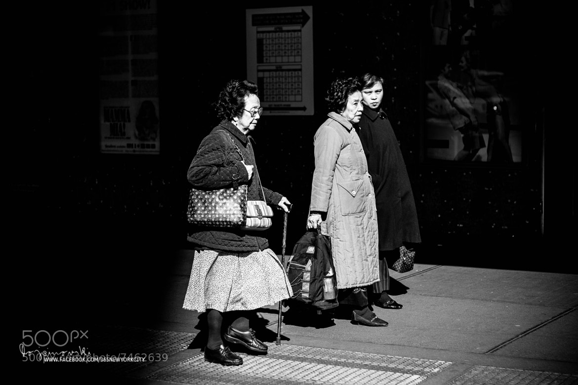 Photograph Grannies on Broadway by Bobi Dojcinovski on 500px