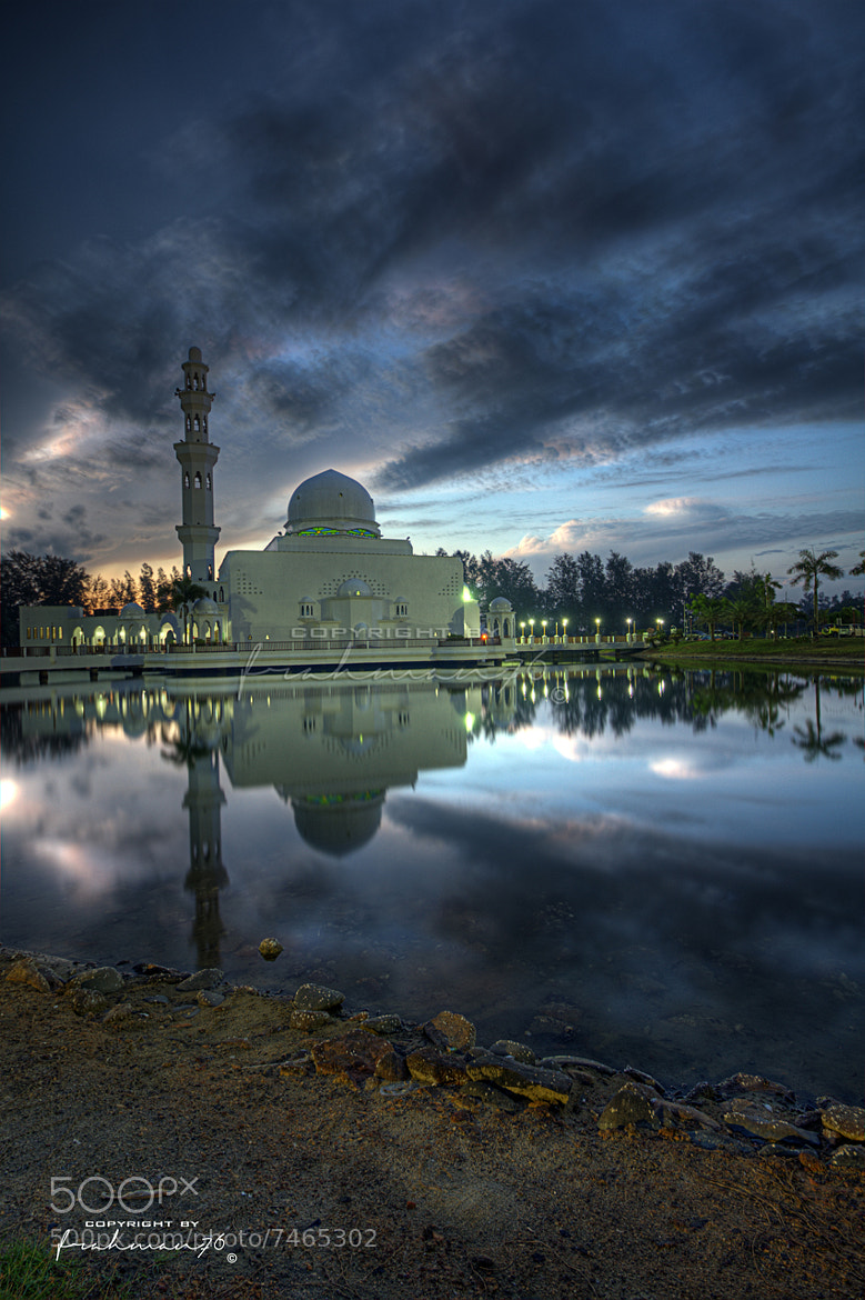Photograph Sunrise at Masjid Tengku Tengah Zaharah by frahman 76 on 500px