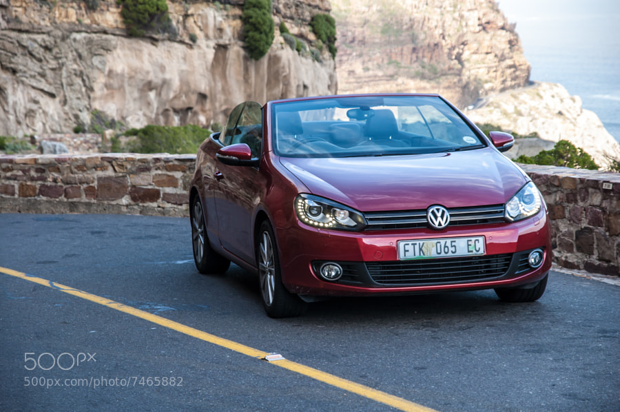 Golf Cabriolet Front View