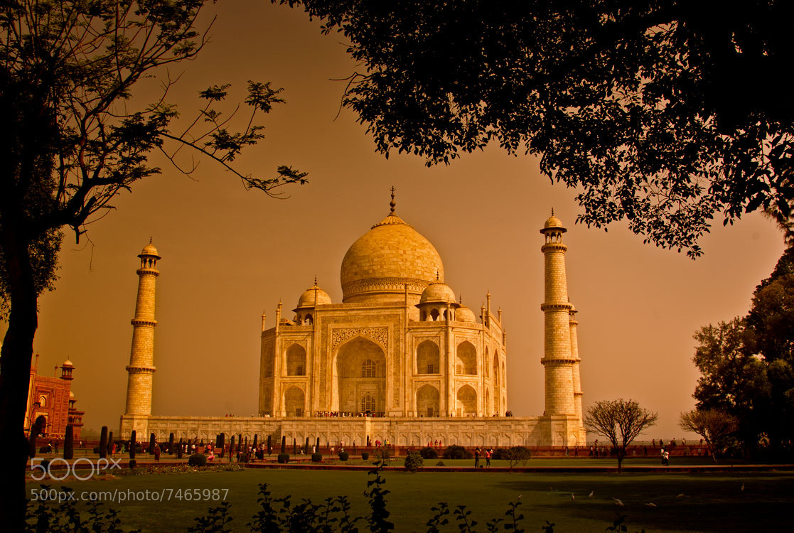 Photograph Taj mahal-2 by Mehmet AKIN on 500px