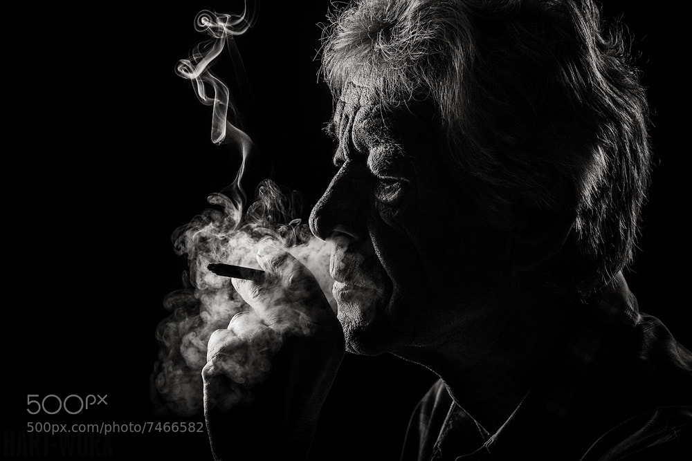 Photograph smoker III by Hartmut Nörenberg on 500px