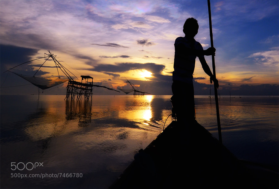 Photograph Fishermen in southern Thailand. by Auttapon Nunti on 500px