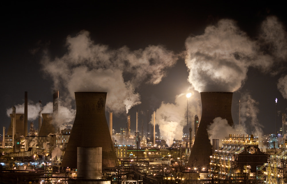 Photograph Grangemouth Petrochemical Plant by Billy Currie on 500px