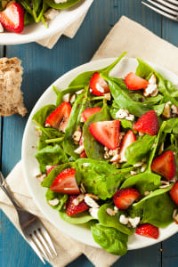 Organic Healthy Strawberry Balsamic Salad by Kimberly Potvin on 500px