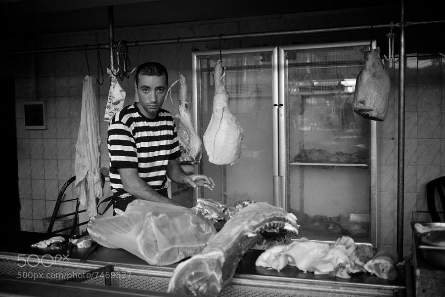 Butcher... by Thomas Leuthard (85mm) on 500px.com
