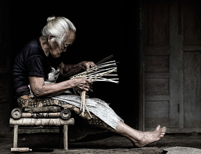 fruit basket maker by dewan irawan