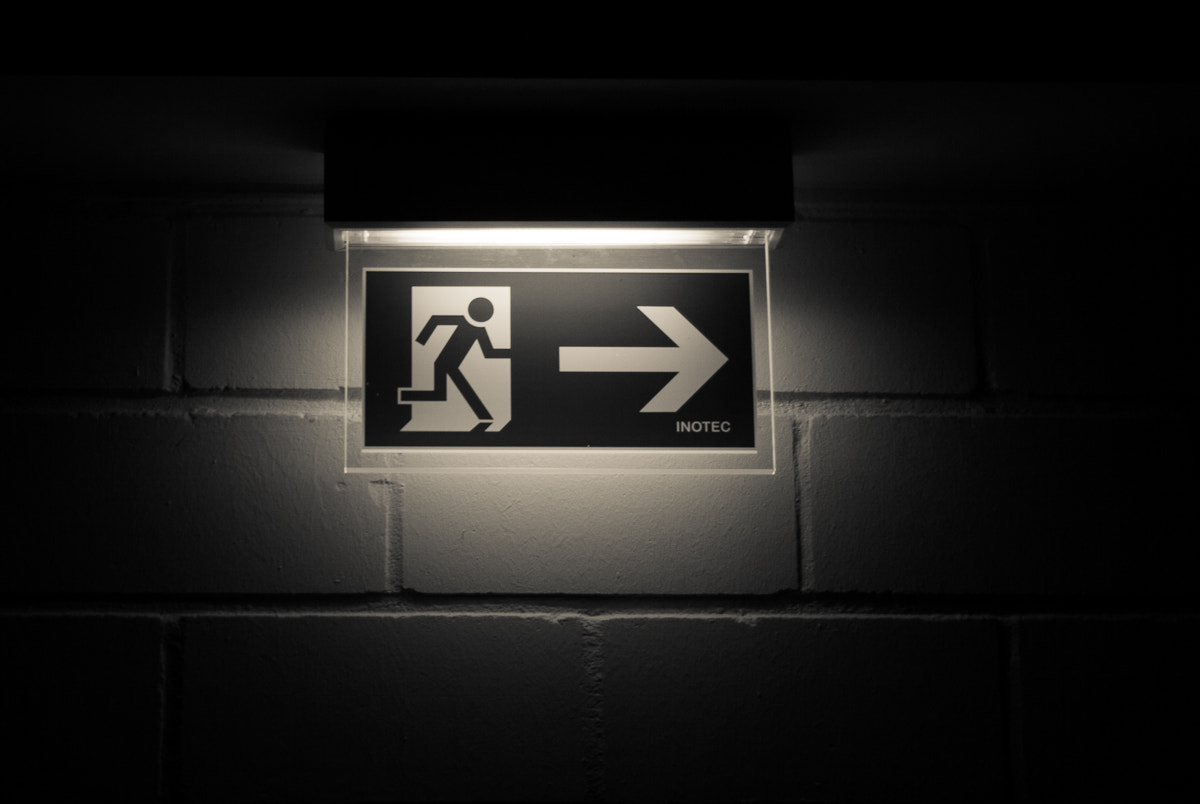 Photograph Exit by Juergen Schoeberl on 500px