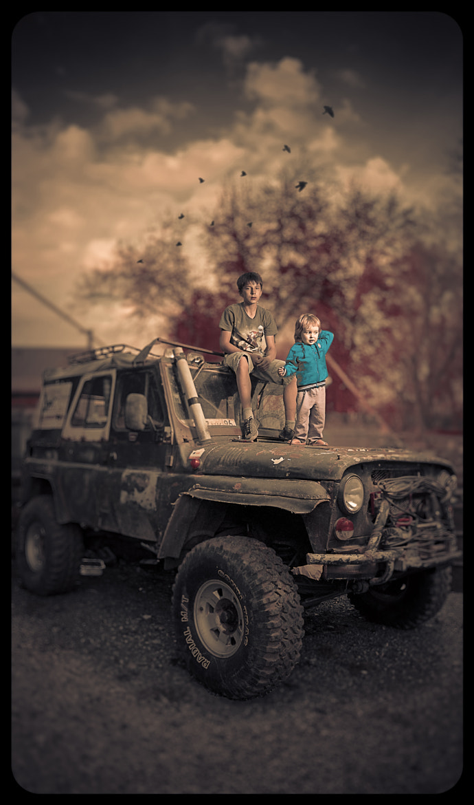 Photograph UAZ relatives by Christian Clim on 500px