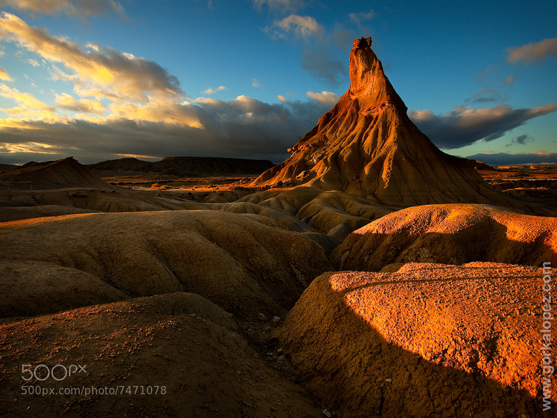 The golden tower by Gorka Lopez (gorkalopez) on 500px.com