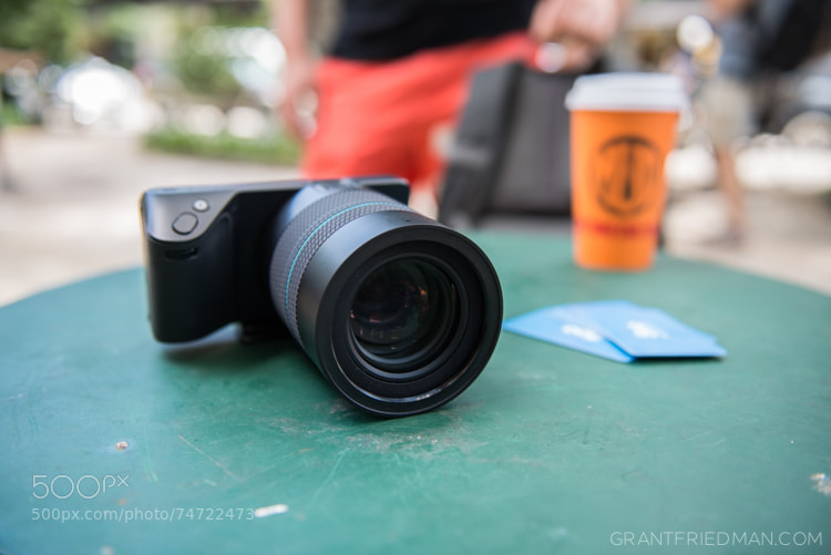 Photograph Lytro Illum Camera and 500px Awesome Account Cards by Grant Friedman on 500px