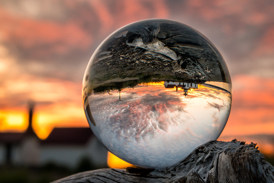 Photograph Crystal Ball Sunset by Dale Johnson on 500px