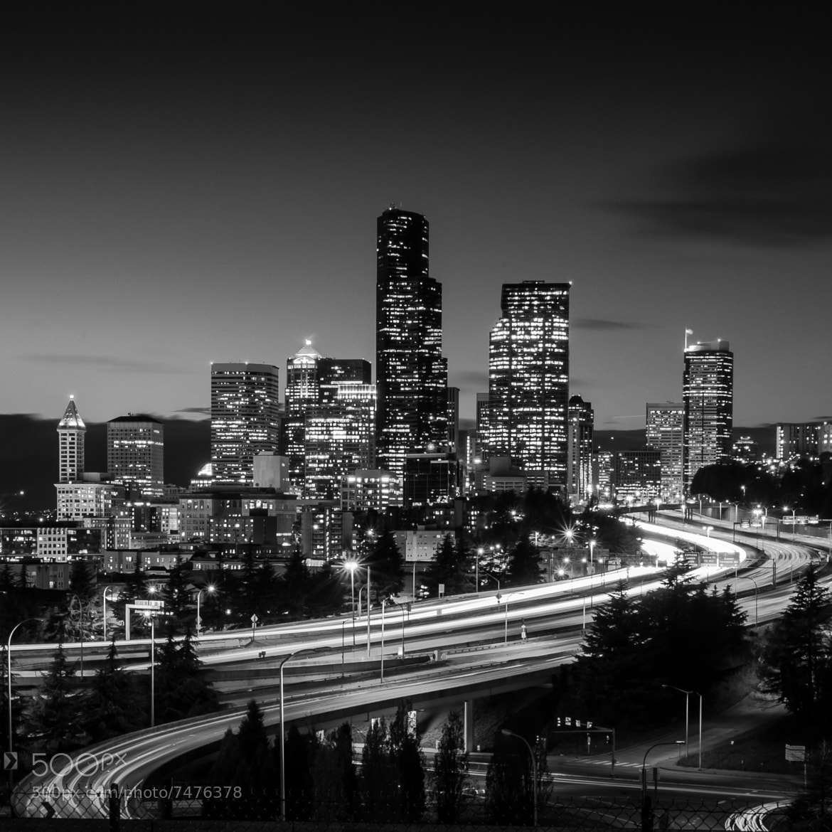 Photograph Seattle S-curve.  by Noom Photozaa on 500px