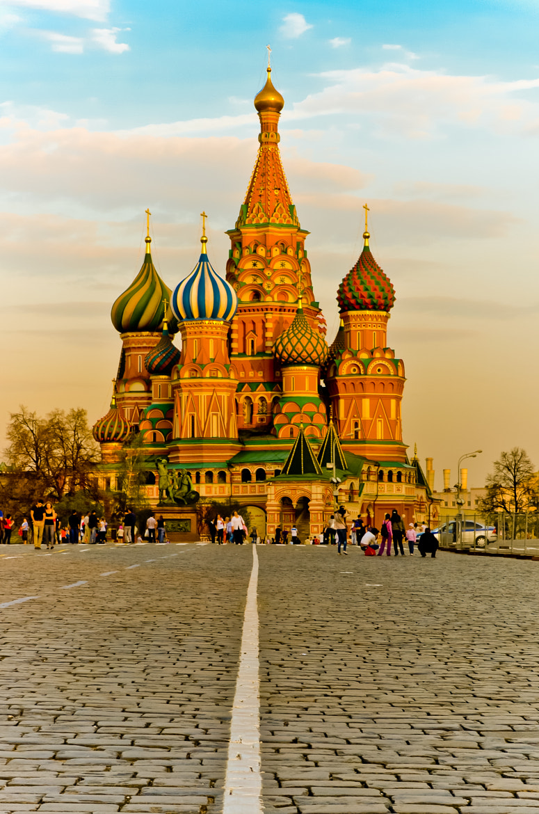 Photograph St. Basil's Cathedral by Norbert Weiss on 500px