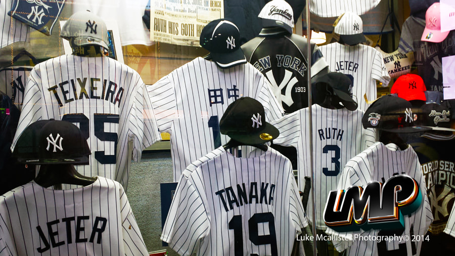 New York Yankees Store by Luke Mcallister on 500px.com