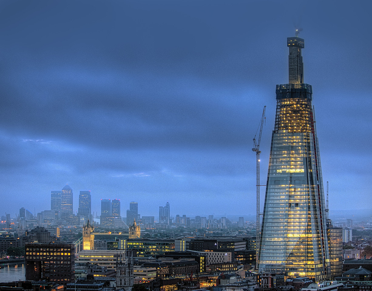 Photograph Morning Shard by Michael Murphy on 500px