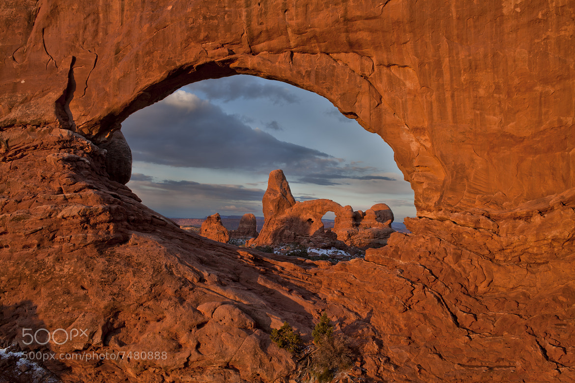 Photograph Turret Arch from North Window by Gary Thompson on 500px