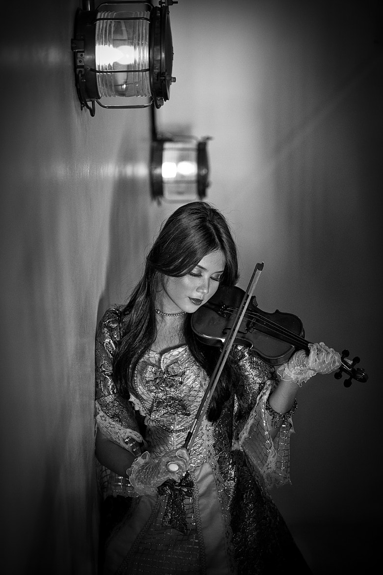 Photograph Violinist by Afif Farisi on 500px