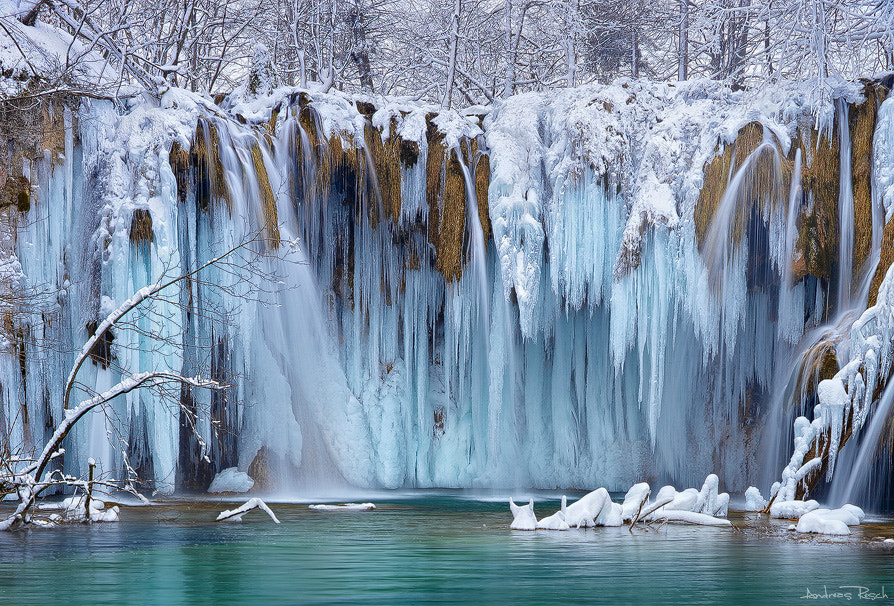 Photograph Frozen Plitvice by Andreas Resch on 500px