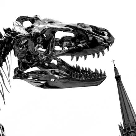 Cybernetic T-Rex vs Paris