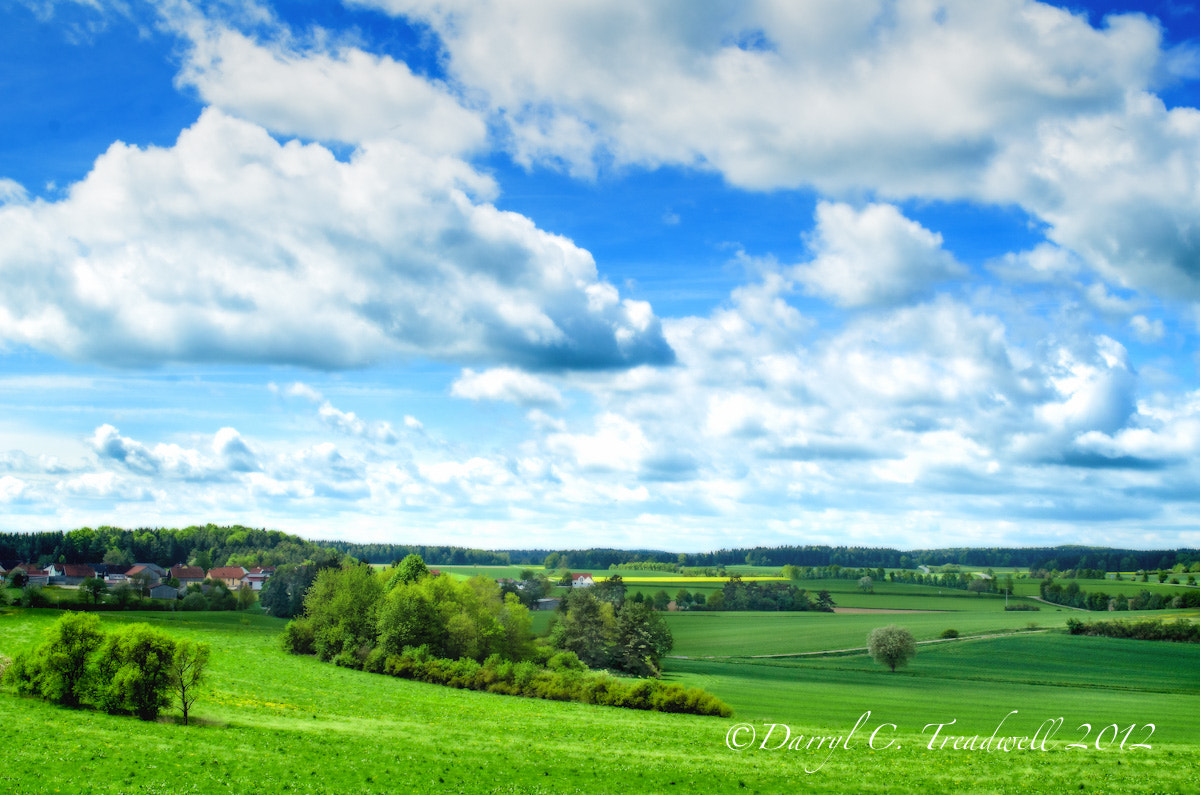 Photograph Bavarian Fields in Spring by Treadwell Images on 500px