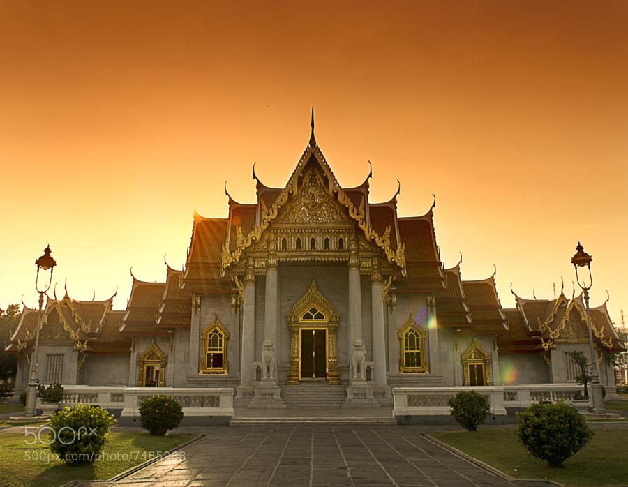 Sunset Temple by Mata Arif (MataArif) on 500px.com
