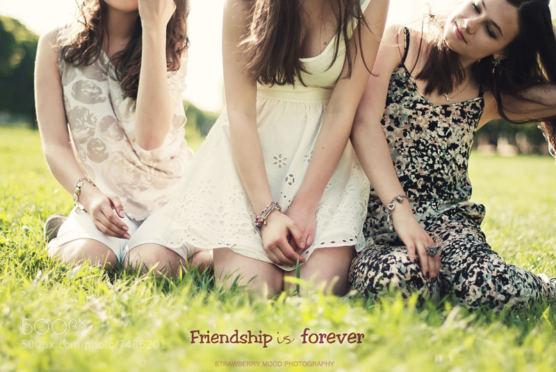 Photograph Friendship is by Strawberry Mood on 500px