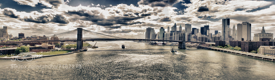 Photograph Brooklyn Bridge by Ken Ardito on 500px
